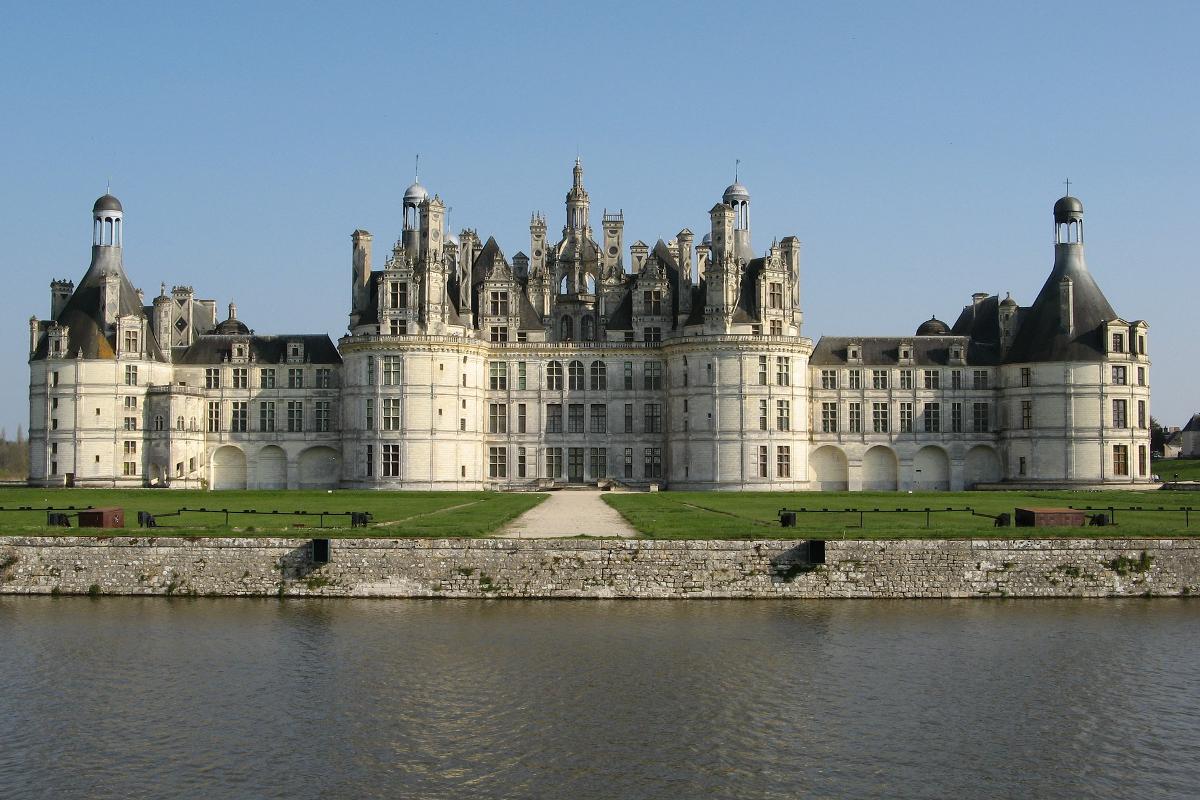 Viajes en el Erasmus castillos del Loira castillo de Chambord