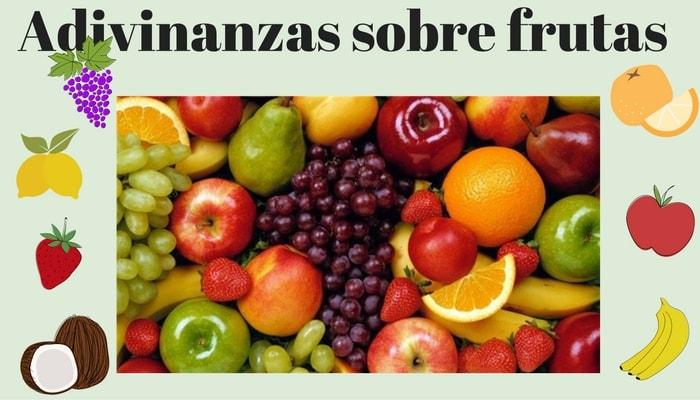 Adivinanzas de frutas y verduras con respuestas